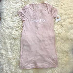 Calvin Klein Sleepwear T-Shirt Dress